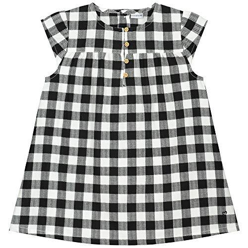 Prénatal jurk voor meisjes met kleine kinderen, geruit