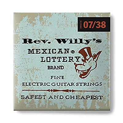 Dunlop RWN0738 Reverend Willy's Electric Guitar Strings