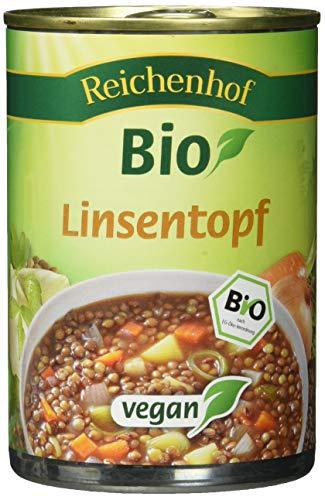 Reichenhof Bio Linsen-Eintopf - vegan, 6er Pack (6 x 400 g)