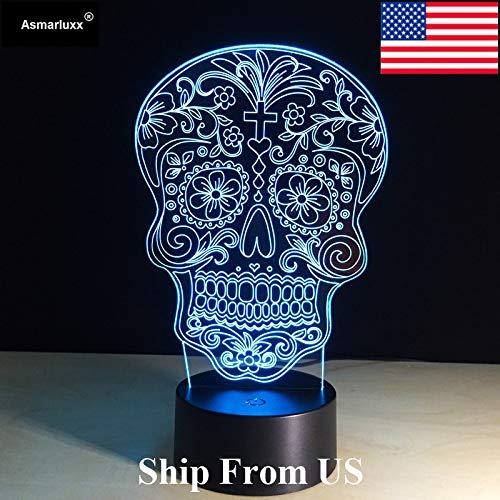 Wird vom oder im Totenlicht des Schiffs versandt. Batteriefarbenwechsel-Tischlampe mit Berührungslicht
