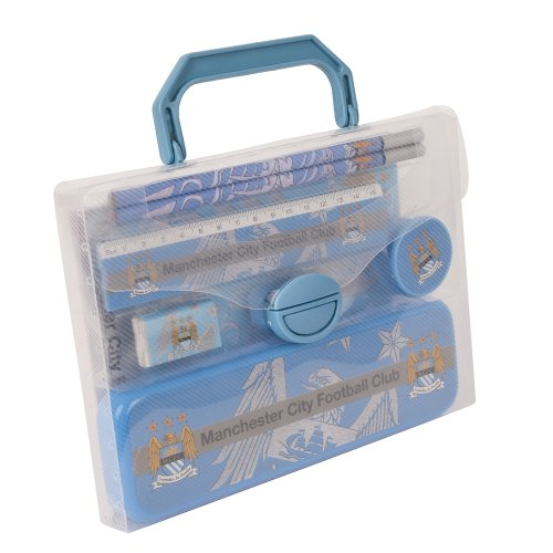 Manchester City Fc Pp Football Stationery Set Official