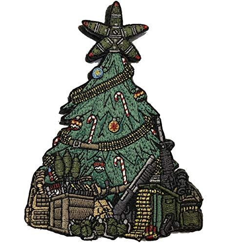 TACOPSGEAR Taktischer Bundeswehr Weihnachtsbaum Christmas Xmas Pine Tree EMB Patch
