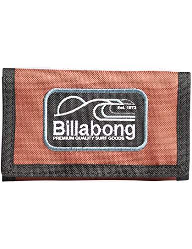 Billabong Walled - Cartera plegable de poliéster en Sangria