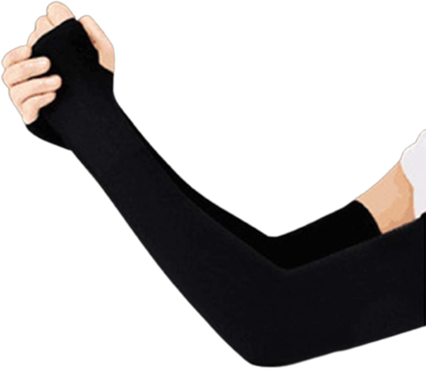 FASW Anti Bleaching Silks Sleeves Gloves Sleeve Cuff for Female and Male in Summer
