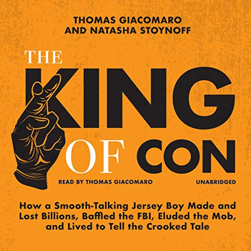The King of Con audiobook cover art
