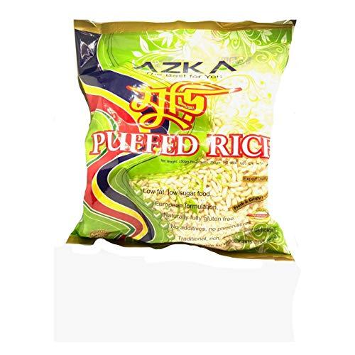 Azka - Puffed Rice - Arroz Inflado - Tufado - Snack Ideal para Cualquier Momento del Día- 250 Gramos