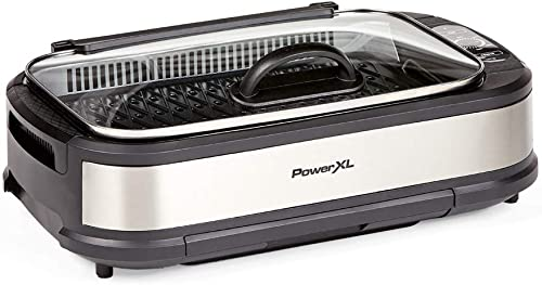 PowerXL-Smokeless-Grill-with-Tempered-Glass-Lid