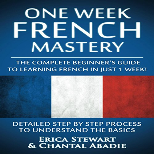 French: One Week French Mastery audiobook cover art