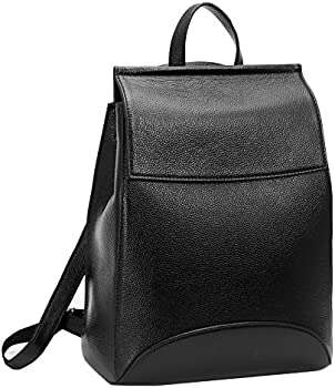 Heshe Womens Casual Style Leather Backpack