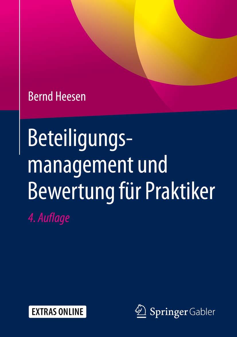 Beteiligungsmanagement und Bewertung für Praktiker (German Edition)