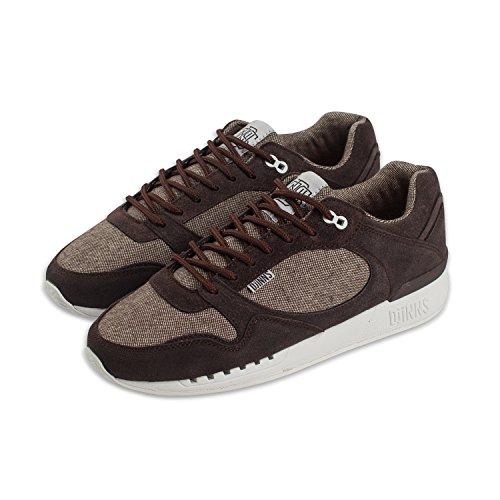 Djinns - Easy Run Elephant (Dark Brown) - Sneaker, EU 42