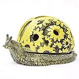 Cenicero Caracoles con Tapa Tanque de Almacenamiento de Animales de Dibujos Animados Cenicero de cerámica Personalidad Creativa Novio y decoración de Regalo de cumpleaños.