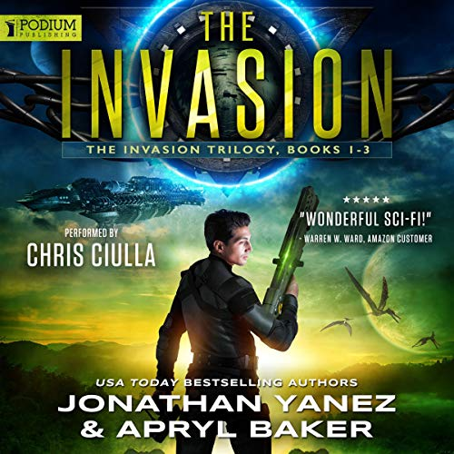The Invasion Trilogy audiobook cover art