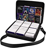 2000+ Card Game Case Holder fits Main Game and All Expansions, C.A.H/ Magic/ Cards Deck Box Compatible with Cards Against Humanity/ Magic The Gathering Board Game Cards / Yugioh/ Dominion & more