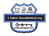 Nerf Bar Alimentazione Quad ATV ROSSO Nerf Bar 4//& 2