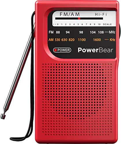 Radio Transistor A Pilas  marca PowerBear