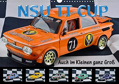 NSU TT CUP Auch im Kleinen ganz Groß (Wandkalender 2021 DIN A3 quer): NSU Prinz TT Eine Legende lebt (Monatskalender, 14 Seiten )