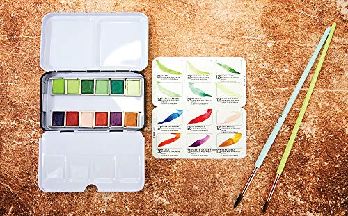 Prima Marketing Prima Confections Watercolor Pans 12/Pkg-Terrain, Original
