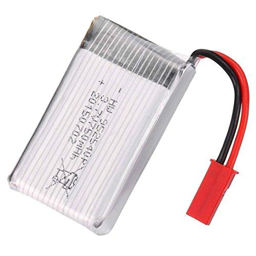 YUNIQUE ESPAGNE® 3.7V 750mAH Li-po batería para MJX X300C X400 X800 RC Drone Quadcopter (Batería*1)