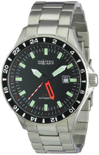 Nautec No Limit Racing 2 RS2 AT-GMT/STSTSTBK- Orologio da uomo