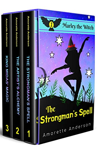 A Marley the Witch Cozy Mystery Collection : Books 1-3 by [Amorette  Anderson]