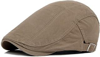 Fasbys Baschi Scozzesi da Uomo Berretto Piatto Uomo Vintage Cappello Classic Newsboy Flatcap