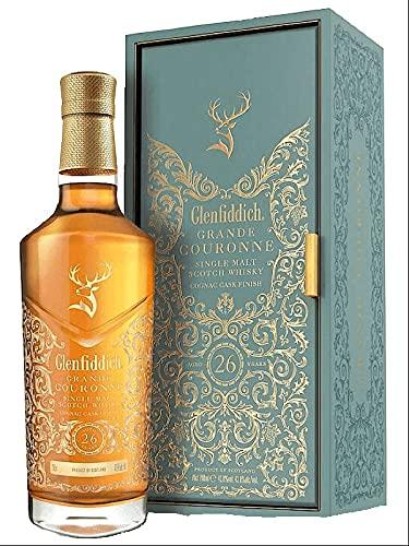 Glenfiddich Glenfiddich 26 Years Old Grande Couronne Single Malt Scotch Whisky 43,8% Vol. 0,7L In Giftbox - 700 ml