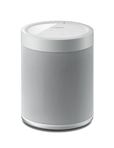 Yamaha MusicCast 20 Diffusore Bluetooth – Speaker wireless multi-room per l'ascolto di musica in streaming – WiFi dual band integrato, Bluetooth Ver. 4.2 + EDR / A2DP, AVRCP, bianco