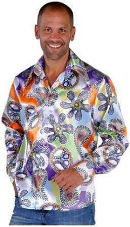 Camisa para hombre de los años 70, 60, 70s, estilo hippy ...
