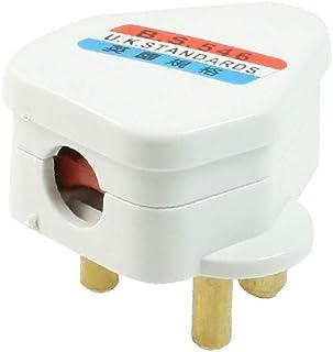 X-DREE AC 220V For AU 5A White Shell Small South Africa Wall Plug Power Adapter (65e18195-a222-11e9-8d7c-4cedfbbbda4e)