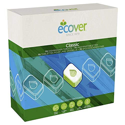 Ecover Spülmaschinentabs XL 70 Tabs, 5 Stück