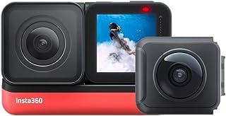 Insta360 ONE R ツイン版(ONE R コア+360度モジュール+4K広角モジュール) 360度アクションカメラ 5.7K 360度全天球 + 4K広角高画質撮影 FlowState 手ブレ補正 5m防水パノラマカメラ スポーツカメラ【Insta360公式】