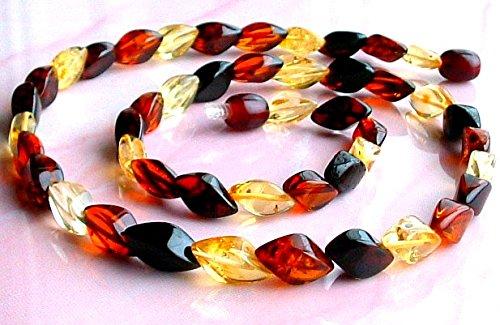 Certificado Genuino Collar de Ámbar Báltico/Collares Mujer / 100% ámbar del Báltico