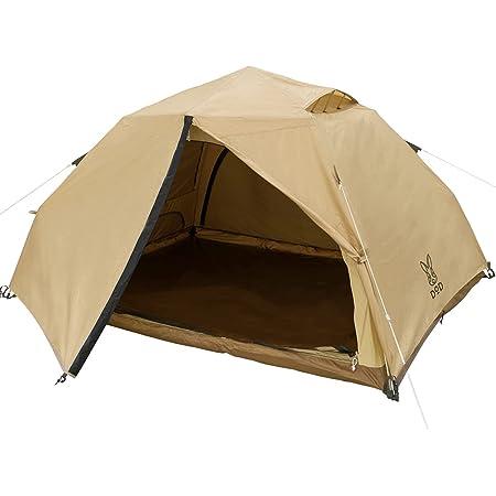 DOD(ディーオーディー) わがやのテント 快適 簡単 ワンタッチ ポリコットン インナー UVカット T5-869-TN ベージュ (約)W280×D280×H156cm