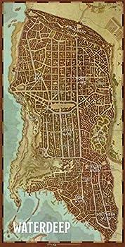 Best waterdeep city map Reviews