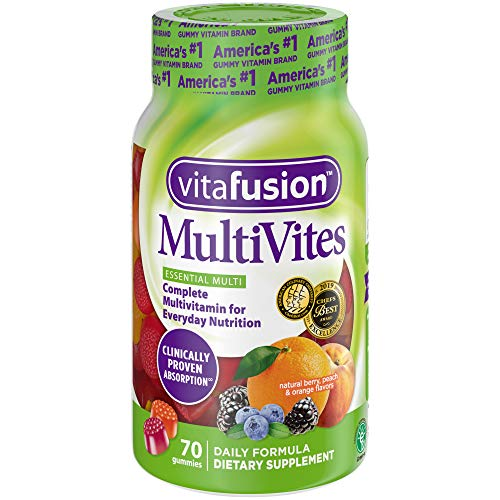 Vitafusion MultiVites Gummy Vitamins, 70ct