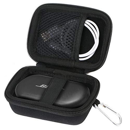 Aenllosi Caja Bolsa Fundas para Bose QuietComfort Earbuds Auriculares Realmente inalámbricos (Negro)