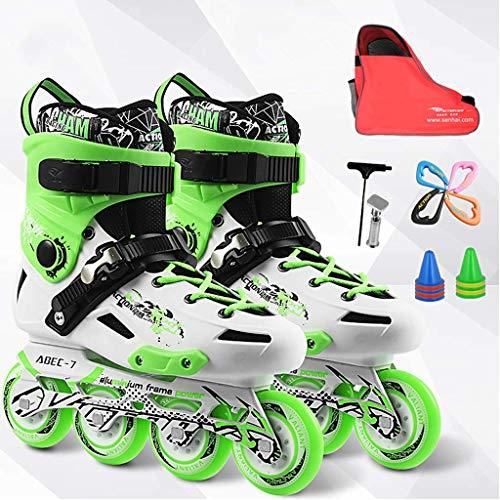 Taoke Sport Inline Skates, sicher und langlebig Skates, Geeignet for Anfänger Fancy Berufsschuhe glatt, 36-44 Yards (Farbe: # 2, Größe: EU 38 / US 6 / UK 5 / JP 24cm) dongdong