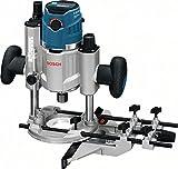 Bosch Professional GOF 1600 CE Fresatrice Multifunzione, 10000-25000 giri/minuto, 5.8 kg, 1600 W, Blu