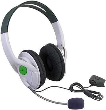 SODIAL(TM) Xbox 360 cuffie grandi(cuffie e microfono)per giochi online xBox 360 con ear pices comodi e mic regolabile e controllo di volume - Trova i prezzi più bassi