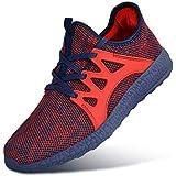 Guteidee Mens Sneakers Running Walking Gym...