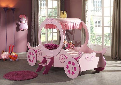 Princess Carriage Bed (Majestic Furnishings)