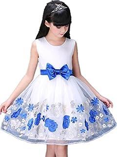 子供ワンピース ドレス フォーマル 女の子 ジュニア ピアノ発表会 パーティー 結婚式 七五三 (140)