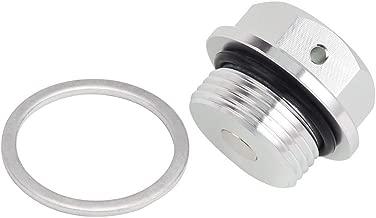 Cnc Aluminum Magnetic Oil Drain Plug M22 X 1.5 22Mm X 1.5 Motorcycle Car (Sliver, M22X1.5)