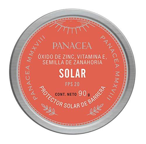 Protectores Solares Organicos marca PANACEA