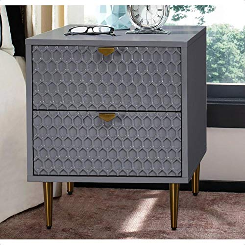 Archippos 2 Drawer Nightstand