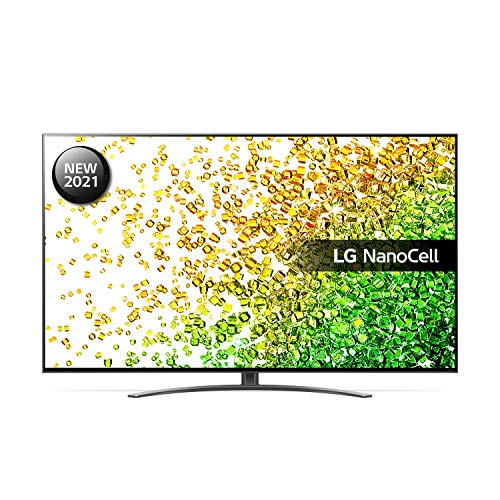 LG 55NANO866PA 55 inch 4K UHD HDR Smart NanoCell TV (2021 Model) with ?7 Gen4 AI processor, HDR, HFR, VRR, Dolby Atmos & Dolby Vision IQ, Google Assistant and Alexa compatible
