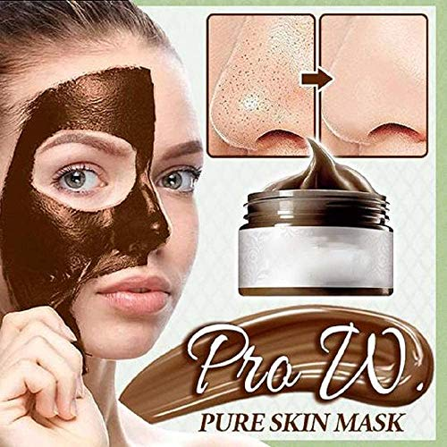 Pure Skin Mask,Herbal Refining Peel-off Mask,Tearing Shrinks Pores Mask Remove Blackheads, Acnecne Killer Deep Cleansing Blackhead Mask