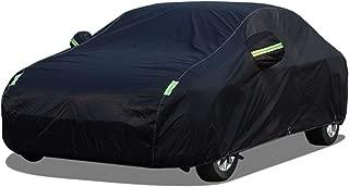 Color : Black, Size : A3 Whitejianpeak B/âche pour Voiture Couverture De Voiture Compatible avec Audi A3 Imperm/éable Housses pour Auto Ext/érieure De Protection Automobile B/âche Voiture Couverture