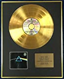 Century Music Awards Pink Floyd Disque d'or 24 carats Album Dark side of the Moon